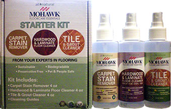 The Flor Stor Mohawk Floor Care Products